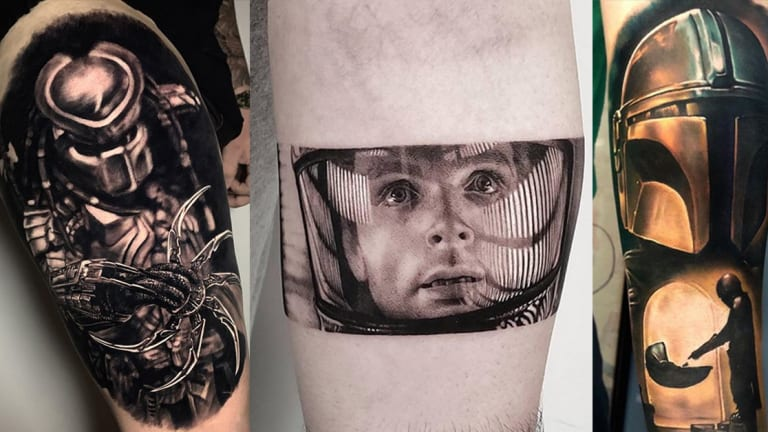 20 Out of this World Tattoos for National Science Fiction Day