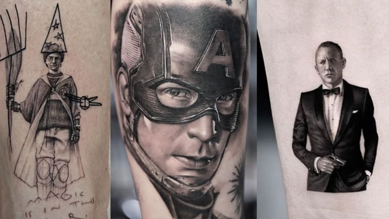 25 Tattoos Inspired by the Top Movies of the Decade