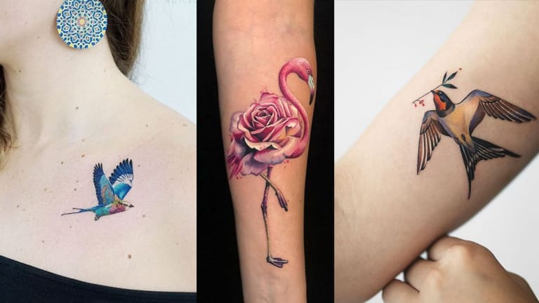 Celebrate National Bird Day with 23 High Flying Tattoos