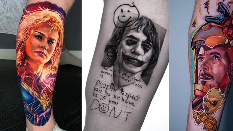 10 Tattoos Inspired by the Top Movies of 2019