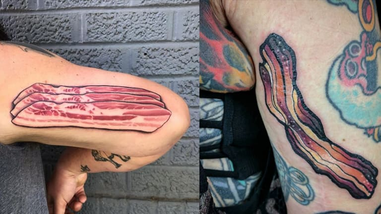 Celebrate National Bacon Day with 11 Delicious Tattoos