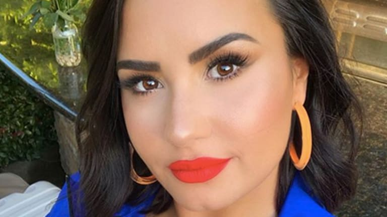 You Won't Believe Demi Lovato's 8 Hour Tattoo