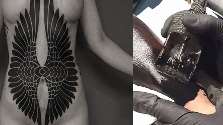 This Artist's Custom Tattoo Needle Could Revolutionize Blackwork
