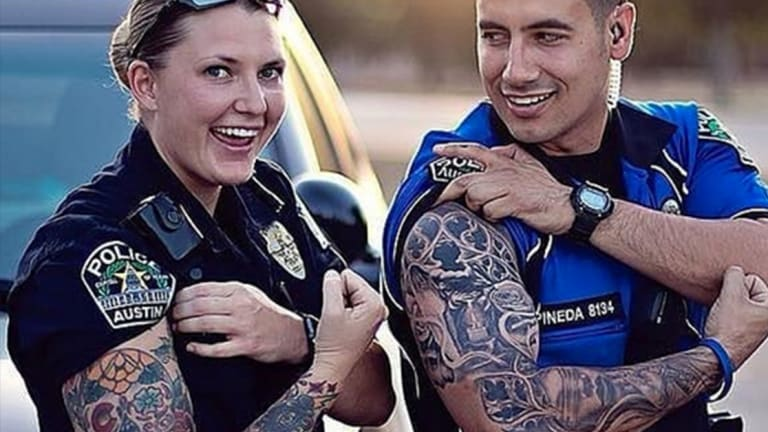 10 Badass Tattooed and Employed Members of Law Enforcement