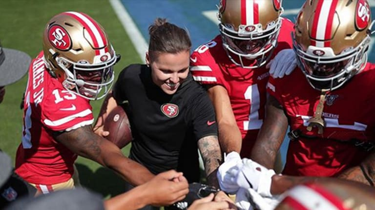 Could this Tattooed Female NFL Coach Lead the 49ers to the Super Bowl?