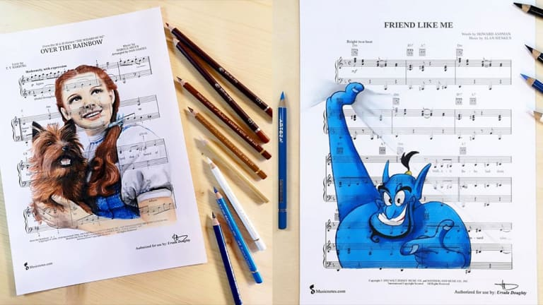 This Artist Makes Songs Come to Life on Sheet Music