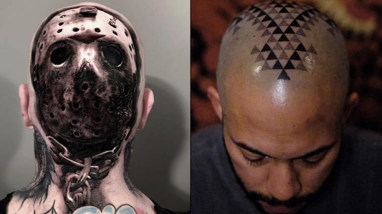 15 Head Tattoos in Honor of National Hat Day