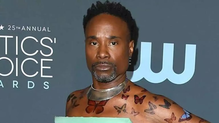Billy Porter Is Bringing Faux Tattoos to 2020