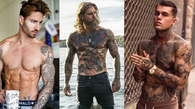We're Celebrating Opposite Day with Sexy Tattooed Men