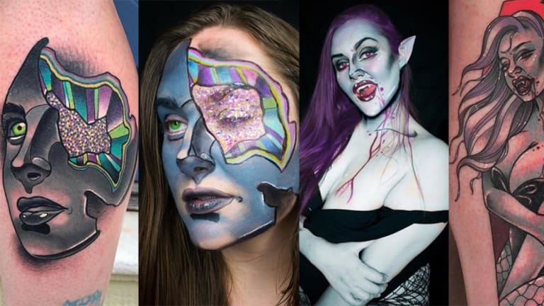 This Makeup Artist Can Transform Into Any Tattoo