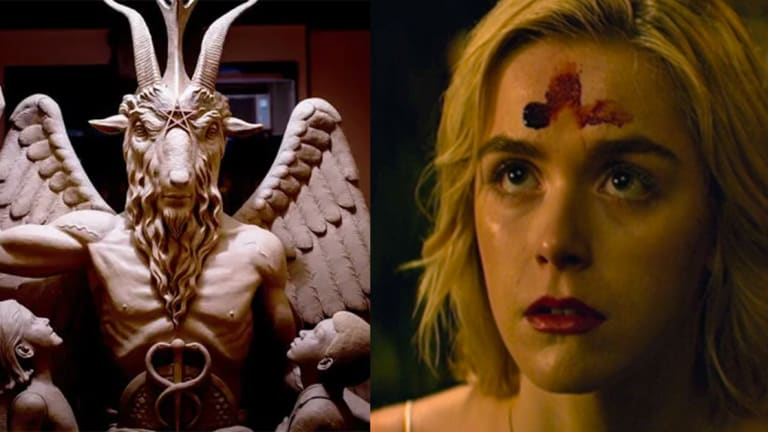 The Satanic Temple Settles Copyright Lawsuit with Netflix for Use of Goat-Head Deity