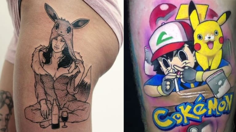 15 Filthy Tattoos For Naughty Nerds