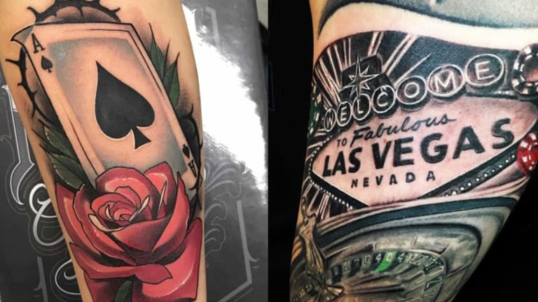 Amazing Tattoo Ideas for Gamblers!