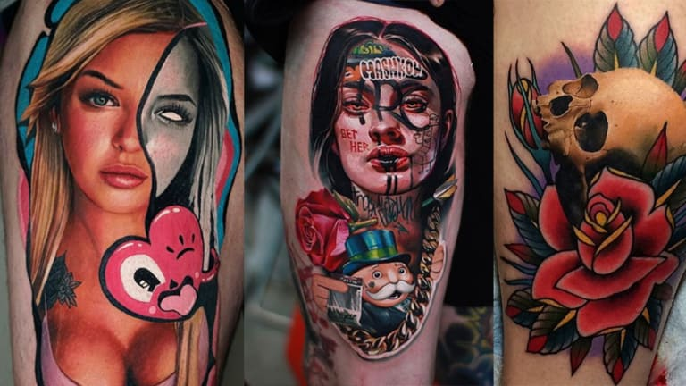 75 Gorgeous Mixed Style Tattoos by Some of the World's Best Artists
