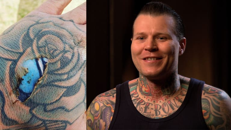Ink Master's Cleen Rock One Weighs In on Burnt Tattoo Debate