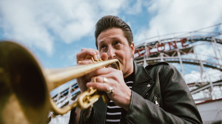 BRIAN NEWMAN: Going GaGa for the Young Man with a Horn!