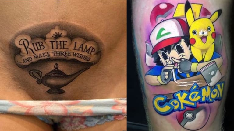 30+ Naughty, Disgusting and Bad Tattoos That Went Viral in 2018