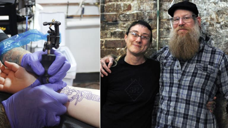 Tattoo Parlor Gives Free Cover-Ups to Sex Trafficking Survivors