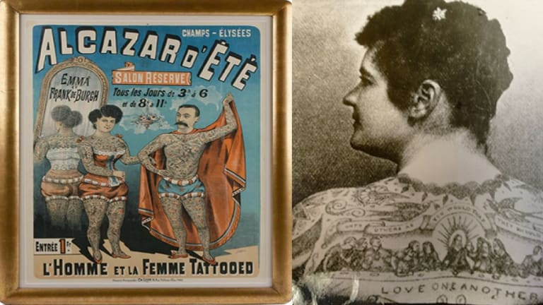 Frank & Emma DeBurghThe Tattooed Couple