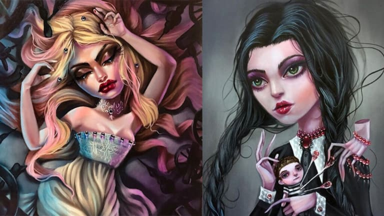 Painter Kurtis Rykovich Brings New Life to Old Fairy Tales