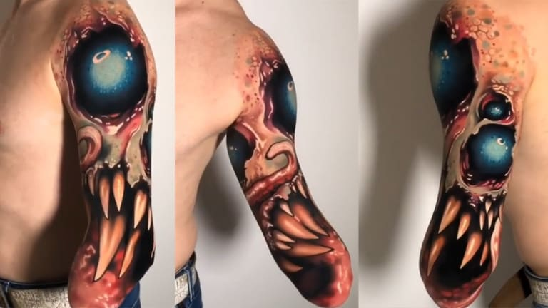 This Amputee Tattoo is Bold, Brilliant and Badass