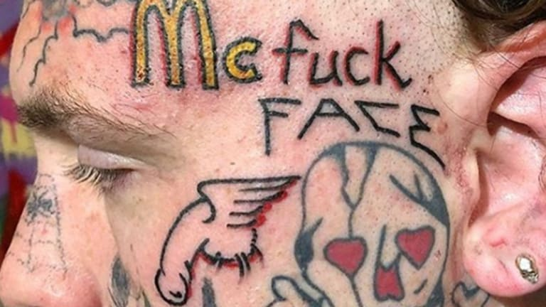 45 Naughty, Disgusting and Bad Job Stopper Tattoos that Went Viral in 2018