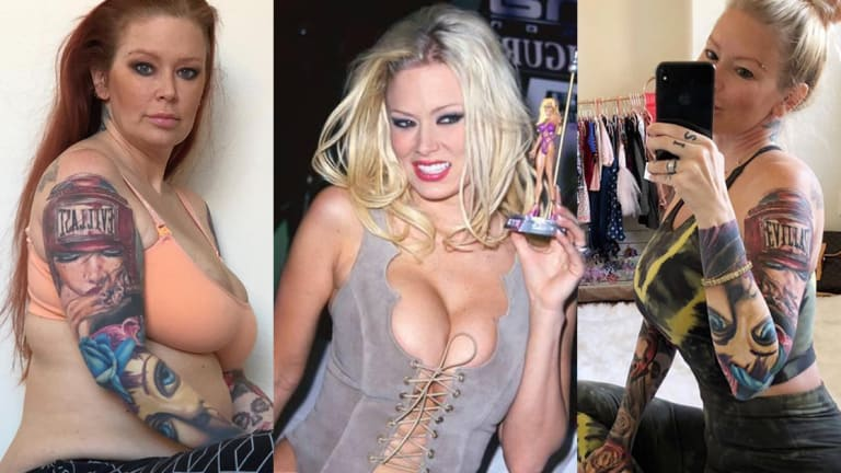 """Jenna Jameson, """"Queen of Porn,"""" Gains 80 lbs of Baby Weight. You'll Never Guess What She Looks Like After Losing It"""