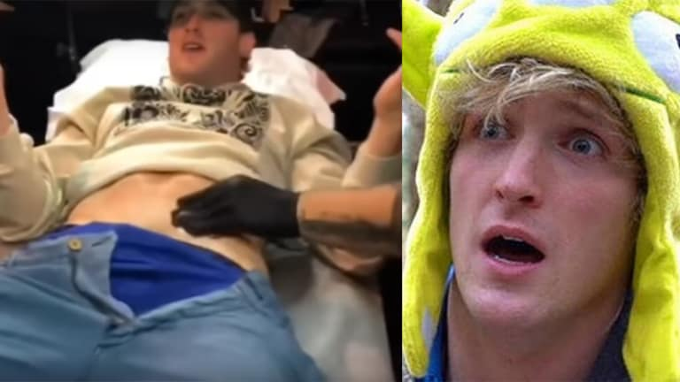 Logan Paul Reveals His First Tattoo and It's a Nod to His Controversial Japan Trip