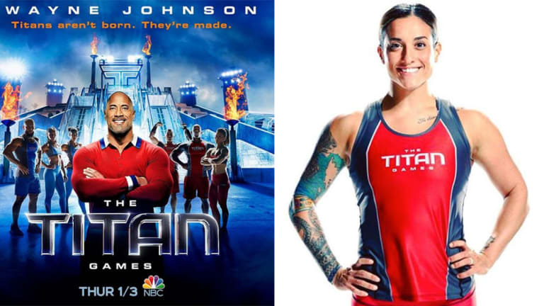 NBC's The Titan Games Contestant Talks Dwayne 'The Rock' Johnson and Being a Firefighter