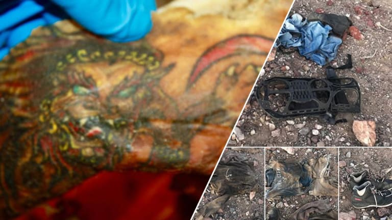Only the Tattoos Remain on Decomposed Body Found in Arizona Desert