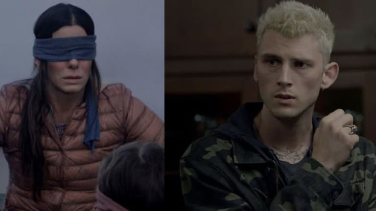 Machine Gun Kelly Brings Ink to Netflix's Bird Box