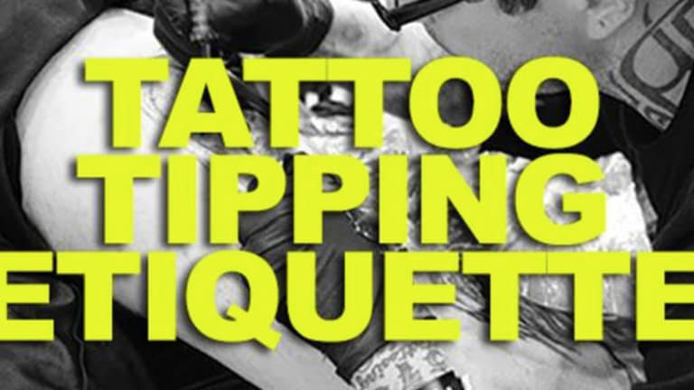 Tattoo Tipping Etiquette