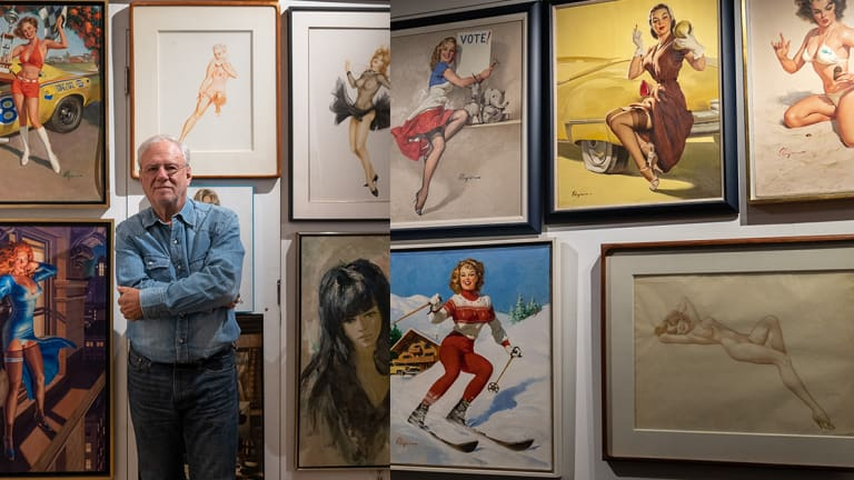 Louis K Meisel Shows INKED an Exclusive Look Into the World's Largest Collection of Pin-Up Art