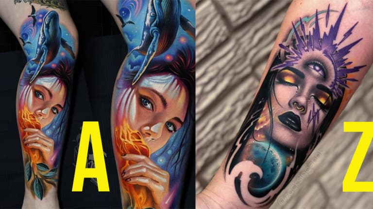 An A-Z Guide to the World's Best Tattoo Artists