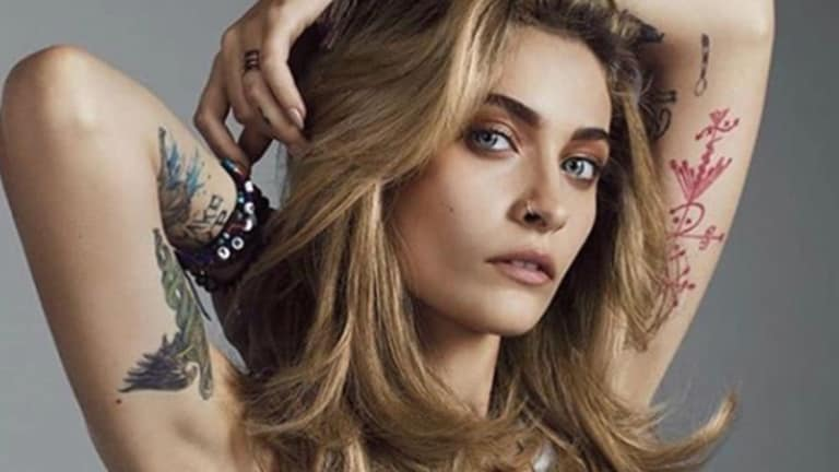 Paris Jackson's Unveils Four New Tattoos Following Mental Health Hiatus