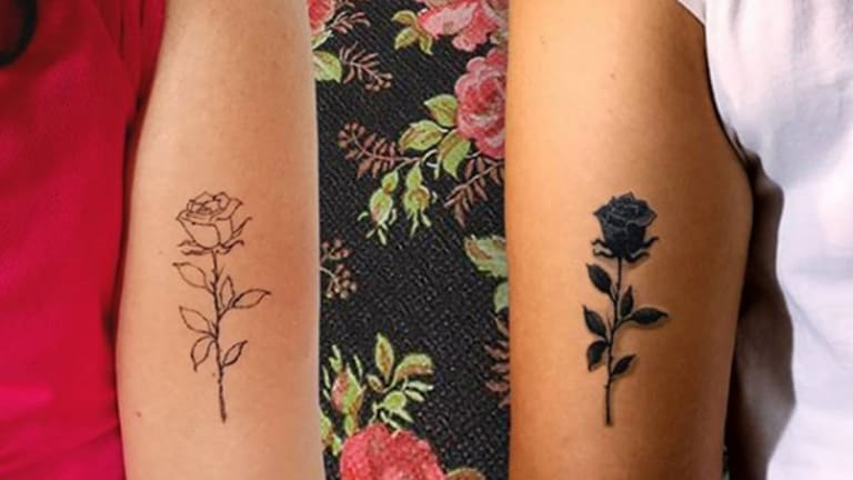 50 Galentine's Day Tattoos to Get with Your BFF Today