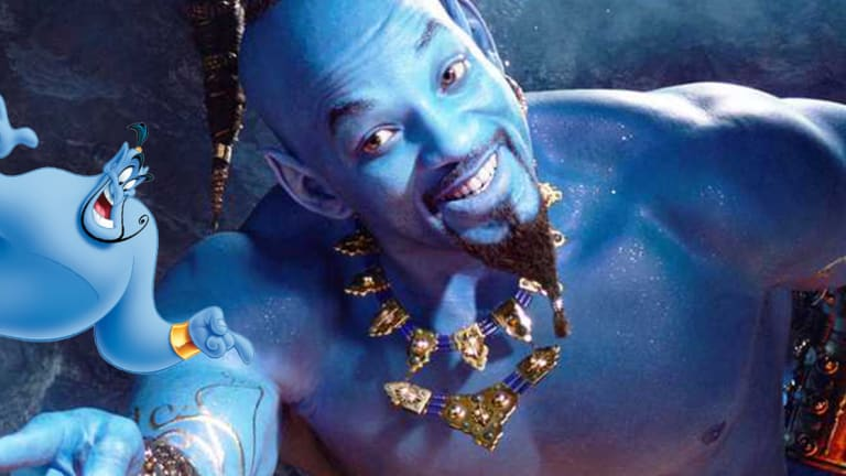 Is Will Smith's Genie Rocking Tattoos in the Live Action Aladdin Film?