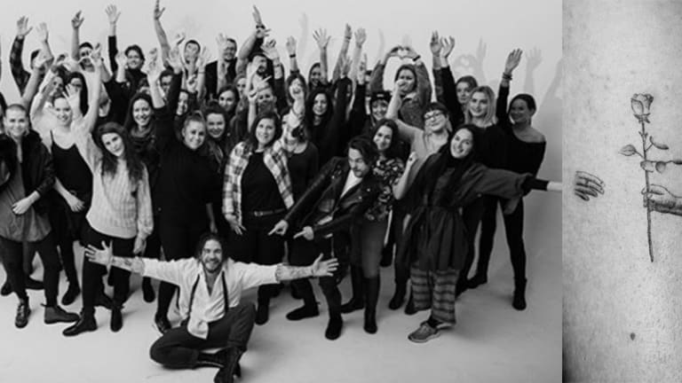 Tattoo Artist Unites 70 Strangers for Record-Breaking Video Project