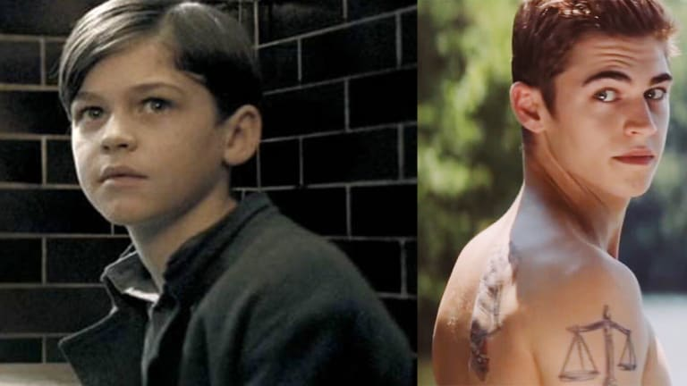 Young Lord Voldemort Transformed Into a Tattooed Hunk For Upcoming Film
