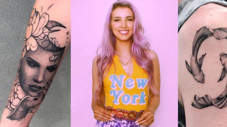 Meet the Talented New York City Tattoo Artist Without a Single Tattoo