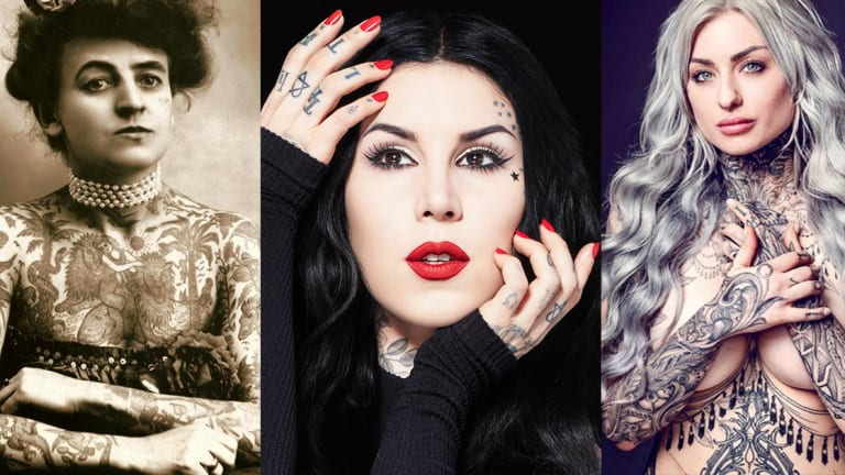 10 Female Artists Who've Changed the Tattoo Industry–Women's History Month
