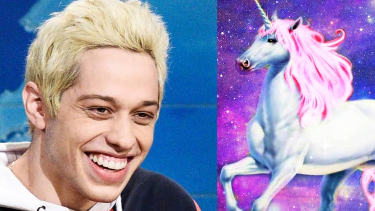 Pete Davidson Got a Huge Unicorn Tattoo by One of NYC's Top Artists
