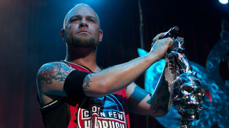 Five Finger Death Punch's Ivan Moody Gets a Face Tattoo with Rick Walters Red Ink