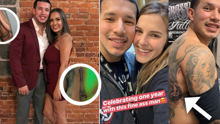 Teen Mom's Javi Marroquin Covers Up Matching Briana DeJesus Tattoo For Lauren Comeau
