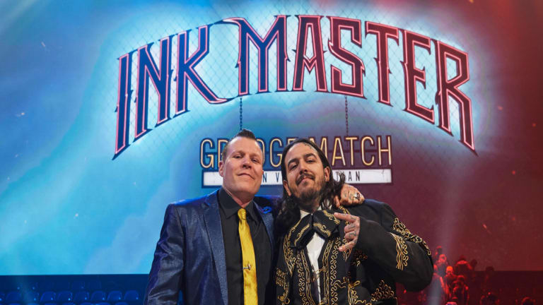 Ink Masters: Cleen Rock One and Tony Medellin