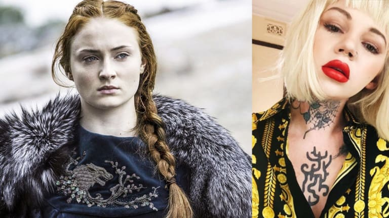 Sophie Turner's Tattoo Artist is Giving Away Free Game of Thrones Tattoos