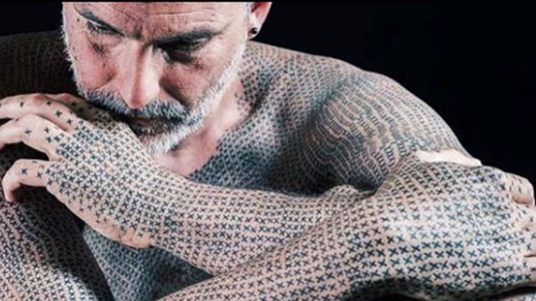 Why This Man Has 40,000 Identical Tattoos