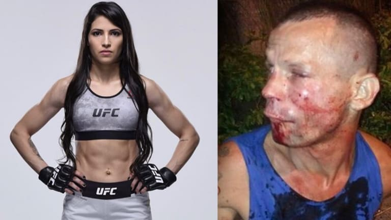 Man Accidentally Tries to Mug One of the Top Female UFC Fighters