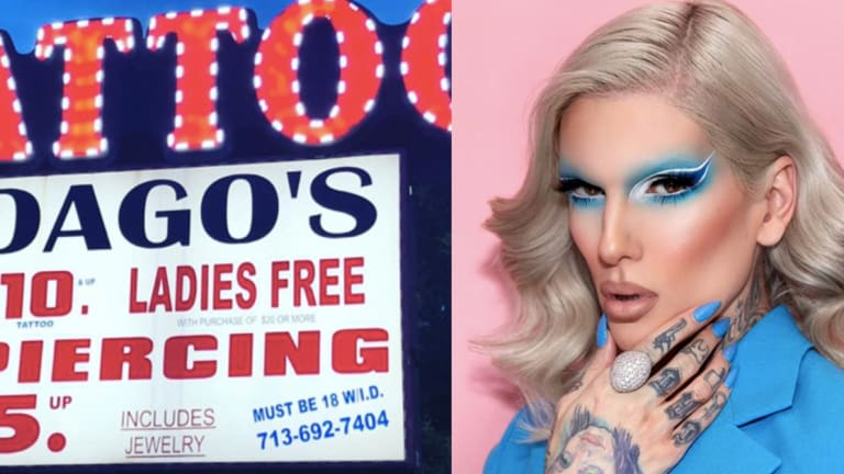 Jeffree Star Visits Yelp's Worst Rated Tattoo Shop