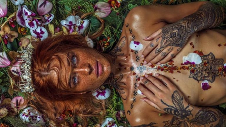 This Photographer Turns Up the Saturation on Tattoo Models